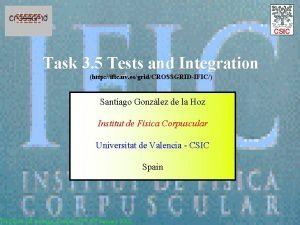 Task 3 5 Tests and Integration http ific