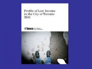 Toronto and Region Toronto and Region Toronto differs
