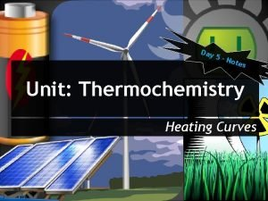 Day 5 N otes Unit Thermochemistry Heating Curves