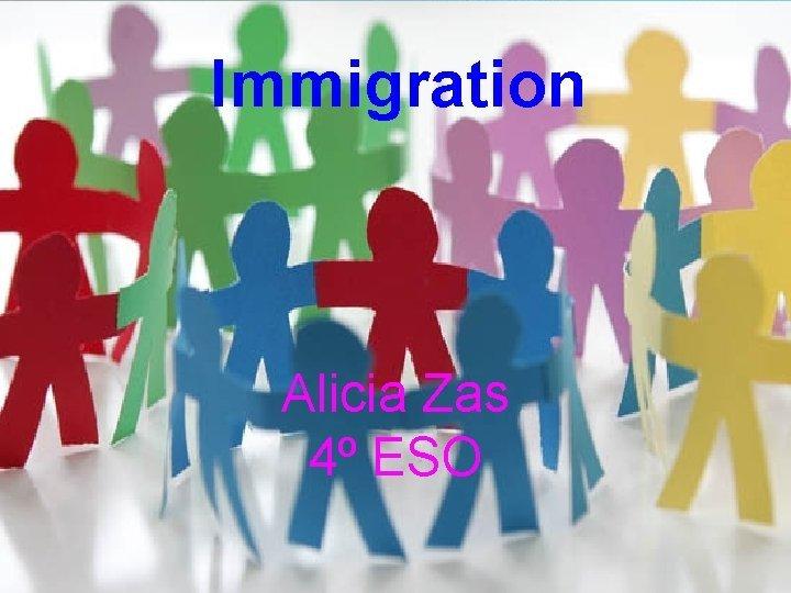 Immigration Business Template Alicia Zas 4 ESO Immigration