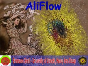 Ali Flow Summary Importance of Flow in H