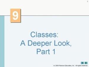1 9 Classes A Deeper Look Part 1