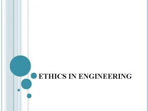 ETHICS IN ENGINEERING WHAT IS MEANT BY ETHICS