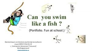Read Can you swim like a fish Can