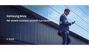 Samsung Knox la proposizione mobile B 2 B