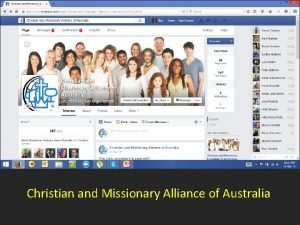 Christian and Missionary Alliance of Australia Alliance Family