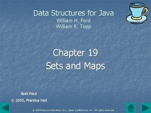 Data Structures for Java William H Ford William