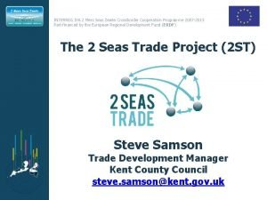 INTERREG IVA 2 Mers Seas Zeen Crossborder Cooperation