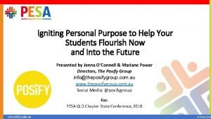 Igniting Personal Purpose to Help Your Students Flourish