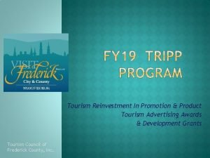 Tourism Reinvestment In Promotion Product Tourism Advertising Awards