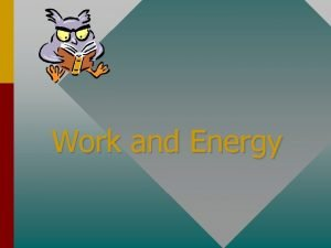 Work and Energy The Ninja a roller coaster