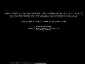 A randomized controlled trial on the effect of