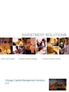 INVESTMENT SOLUTIONS premier asset managers individual investment strategies
