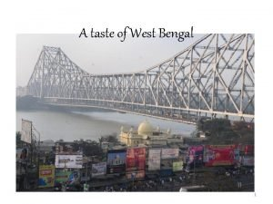 A taste of West Bengal 1 Chef Lee