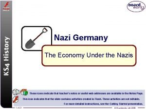 Nazi Germany The Economy Under the Nazis These