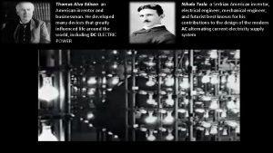 Thomas Alva Edison an American inventor and businessman
