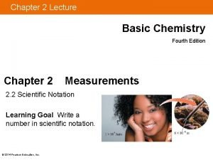 Chapter 2 Lecture Basic Chemistry Fourth Edition Chapter