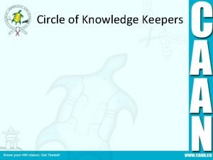 Circle of Knowledge Keepers Module 1 Opening Prayer