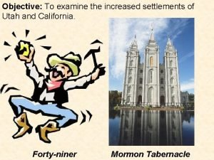 Objective To examine the increased settlements of Utah