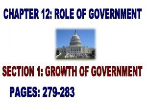 Government employs the largest number of people in