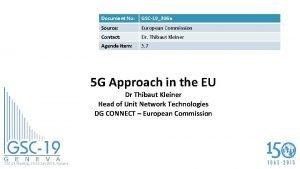 Document No GSC19306 a Source European Commission Contact