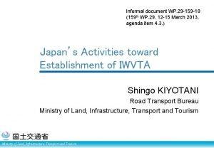 Informal document WP 29 159 18 159 th