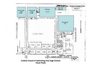CVPA Floor PlanAnnex Ground Floor 017 Dance Studio