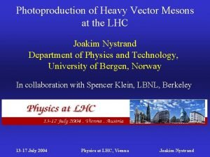 Photoproduction of Heavy Vector Mesons at the LHC