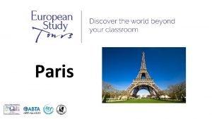 Paris SCHOOLS NAME TRIP TO PARIS Travel Dates