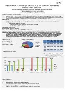ID 41 MANEJAMOS ADECUADAMENTE LA OSTEOPOROSIS EN ATENCIN