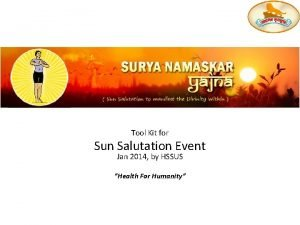 Surya Namaskar 101 Tool Kit for Sun Salutation