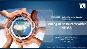 INTOSAI CBC Regional Forum for Capacity Development Pooling
