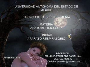 UNIVERSIDAD AUTONOMA DEL ESTADO DE MEXICO LICENCIATURA DE