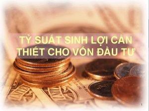 T SUT SINH LI CN THIT CHO VN