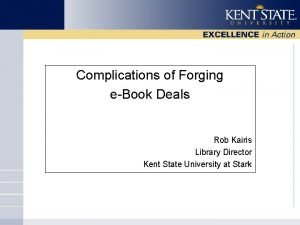 Complications of Forging eBook Deals Rob Kairis Library