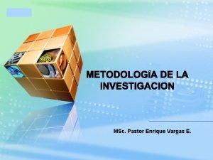 LOGO MSc Pastor Enrique Vargas E LOGO LOGO