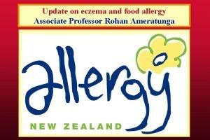 Update on eczema and food allergy Associate Professor