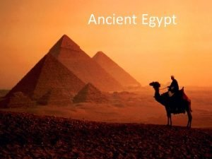 Ancient Egypt Nile River The longest river in