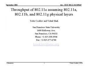 September 2004 doc IEEE 802 11 041096 r