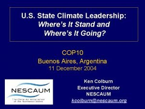 U S State Climate Leadership Wheres It Stand