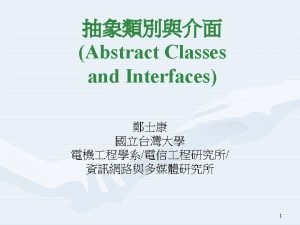 Abstract Class Program 14 using System namespace Abstract