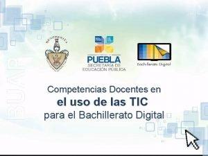 Competencias Docentes en el uso de las TIC
