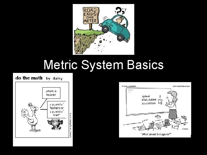 Metric System Basics Metric System The metric system