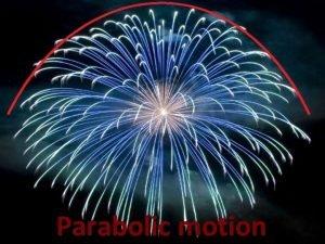 Parabolic motion History of parabolic motion History of