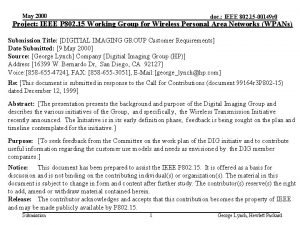 May 2000 doc IEEE 802 15 00149 r