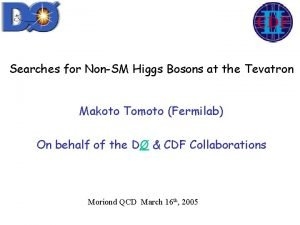 Searches for NonSM Higgs Bosons at the Tevatron