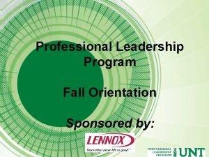 Professional Leadership Program Participant Requirements Professional polish Servant
