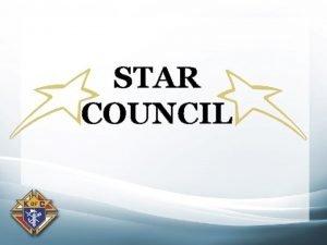 STAR COUNCIL Star Council Father Mc Givney Award