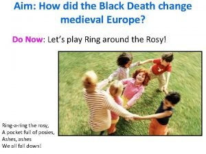 Aim How did the Black Death change medieval