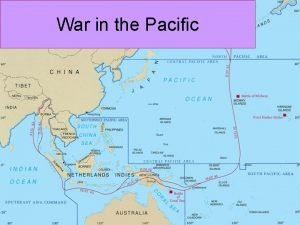 War in the Pacific Background Japan invades China